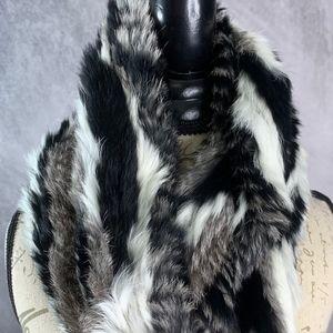 Jocelyn Fur Infinity Wrap Scarf